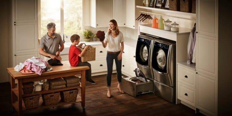 Laundry Made Easy with the LG Twin Wash and LG Sidekick