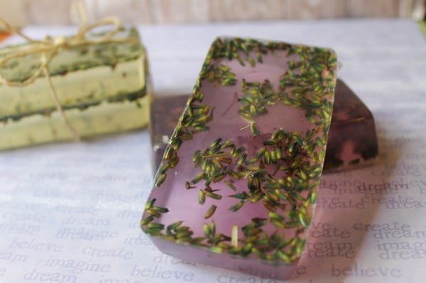 homemade lavender soap recipe
