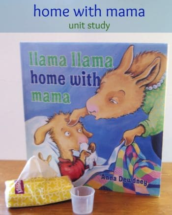 llama llama home with mama book based activities