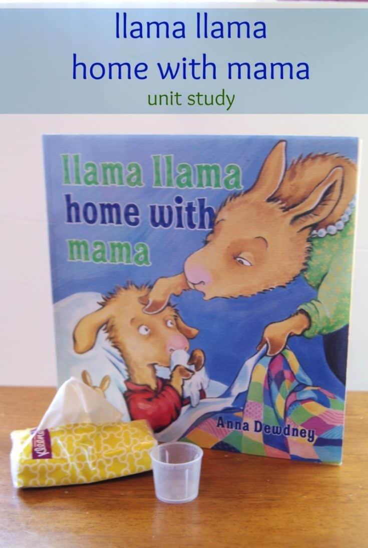 llama llama home with mama Book Based Activities