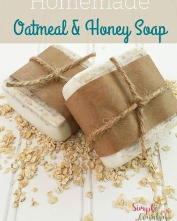 How to make Oatmeal Honey soap