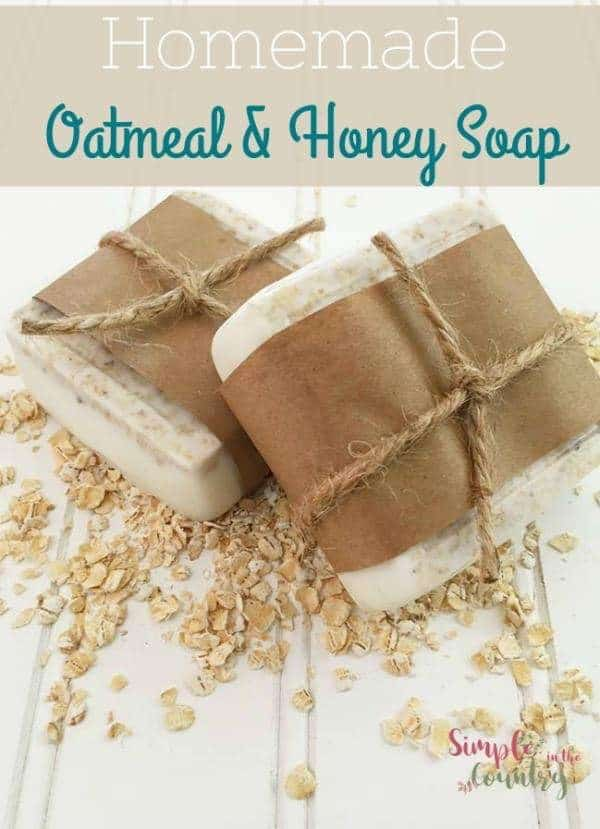 Oatmeal Honey soap recipe