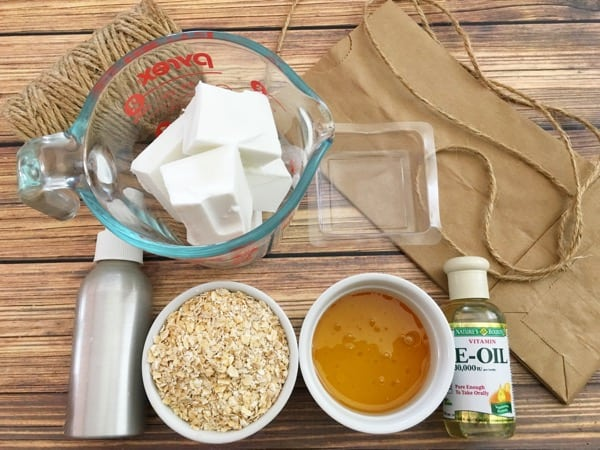 oatmeal soap recipe ingredients