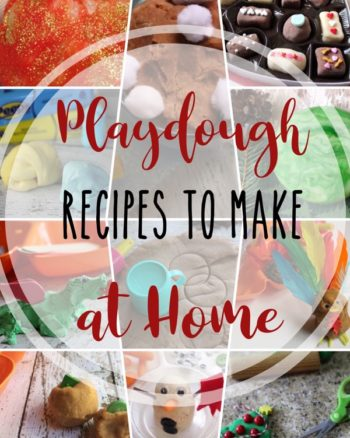 A variety of Playdough Recipes to make at home