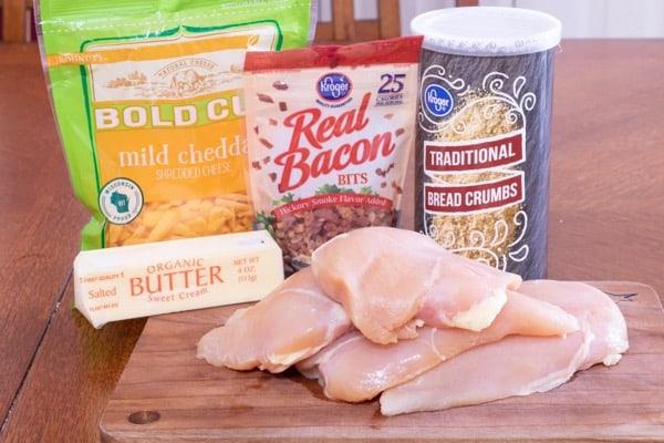 Cheesy Breaded Baked Boneless Chicken Recipe