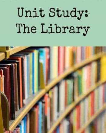 Creating a library unit study