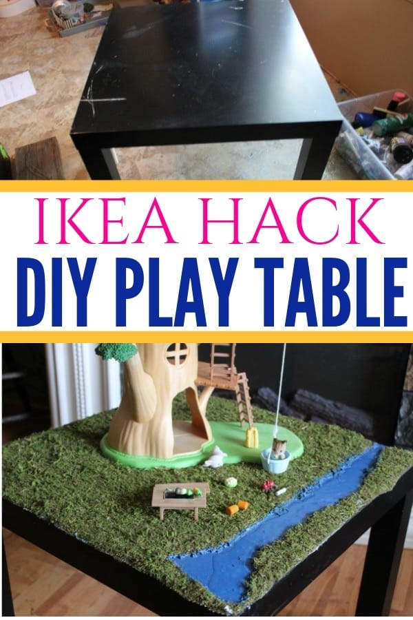 IKEA Hack of the Lack Play Table