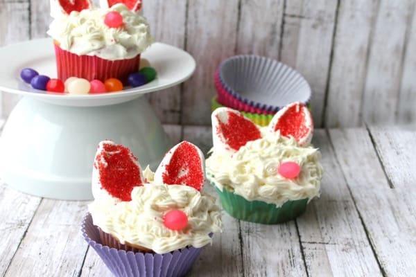 Bunny cupcakes idea