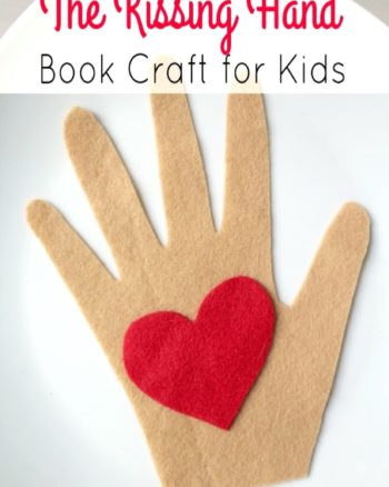 The Kissing Hand Book Based Activity
