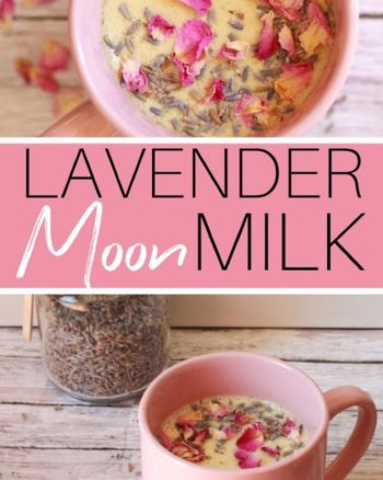 Image for Lavender Moon Milk Recipe
