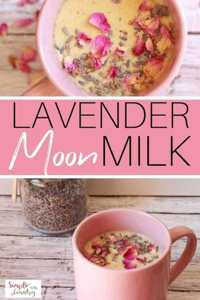 Image for Lavender Moon Milk Recipe