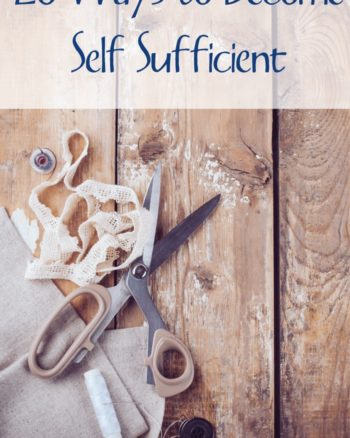self sufficient living tips