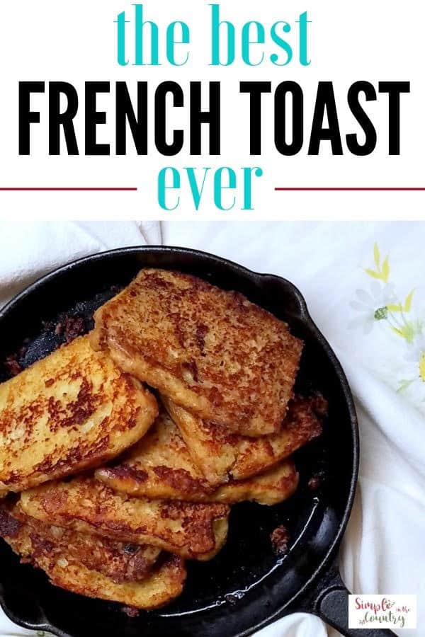 French toast homemade recipe