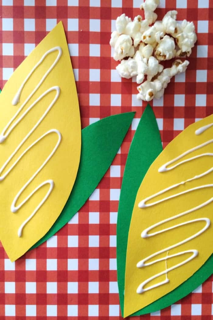 Popcorn craft idea