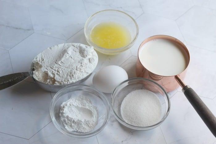 snowflake pancake recipe ingredients