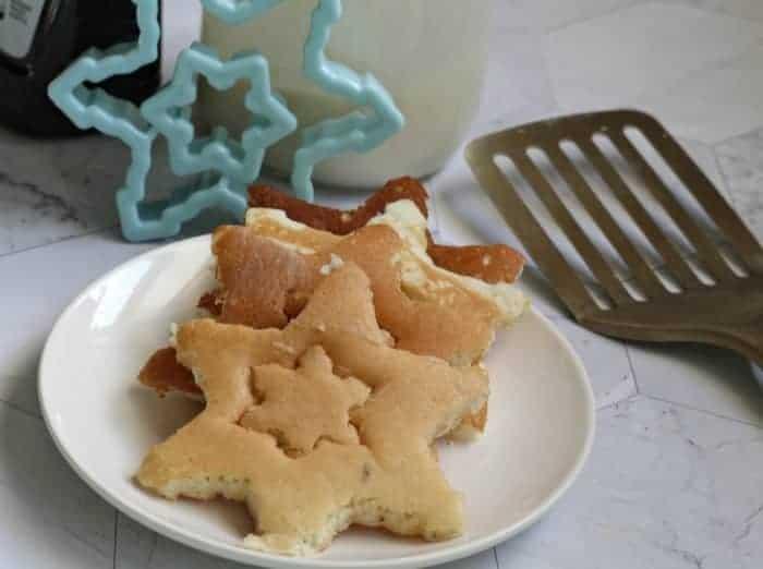 Snowflake Pancake Recipe