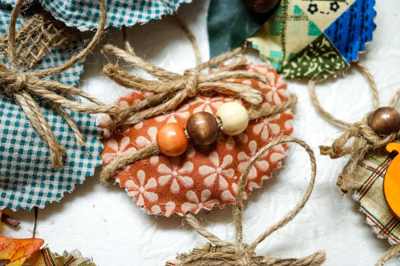 No sew Fall decorations