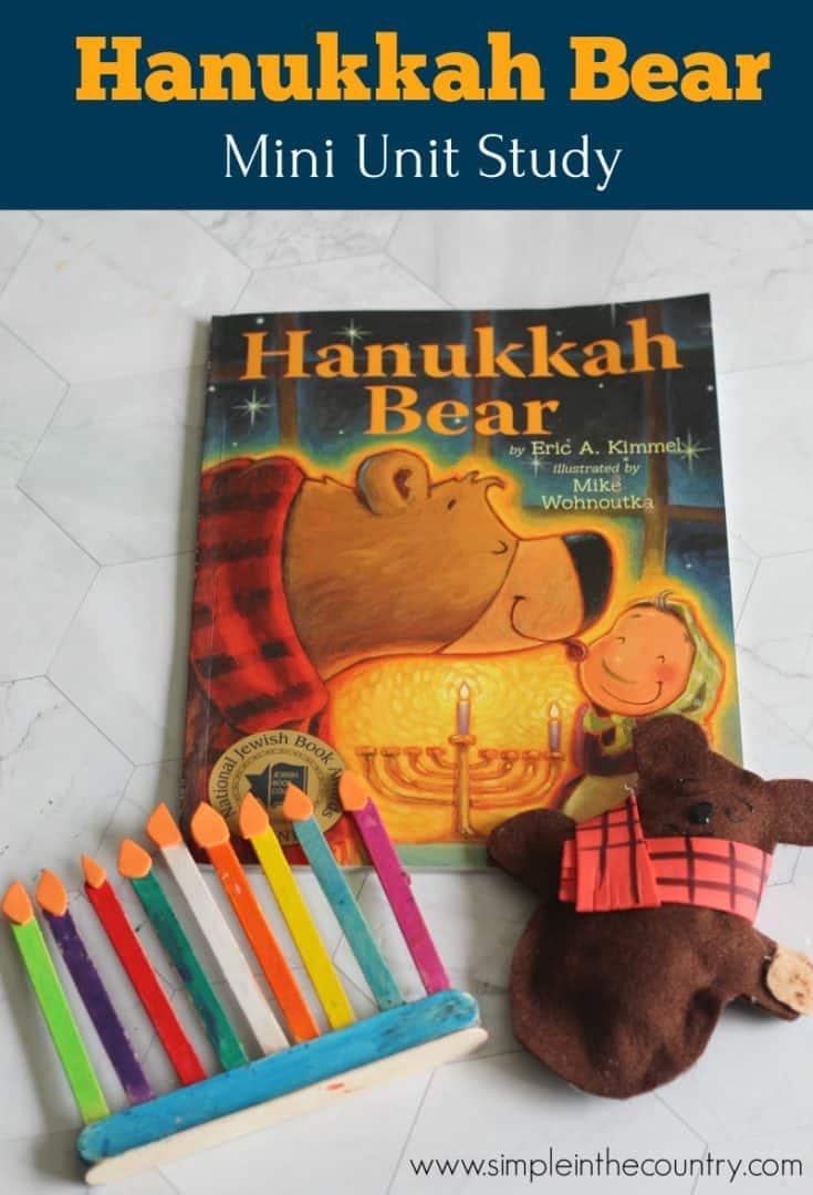 Hanukkah Bear Unit Study
