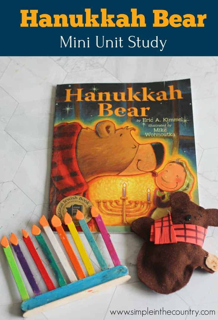 hanukkah bear unit study