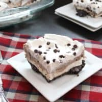Cookies and Cream Chocolate Lasagna