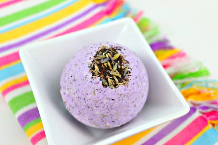 Earl Grey Tea and Lavender Bath Bombs Recipe