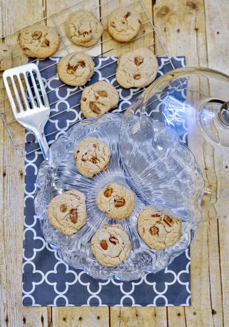 Pecan Cookies with Cake Mix